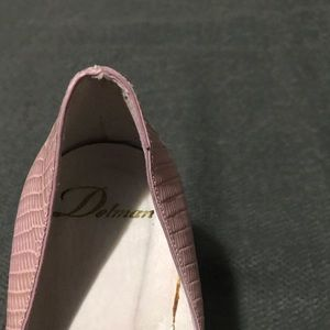 DELMAN POINTED TOE HIGH HEELS SHOES SIZE 10.5